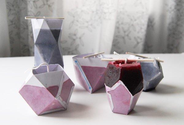 Bloktagon Candles