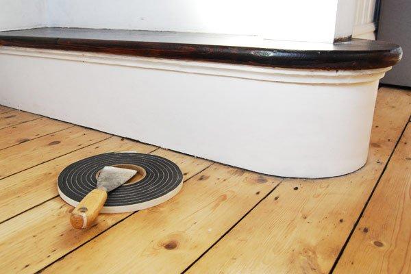 Sealing Gap Between Skirting And Floor