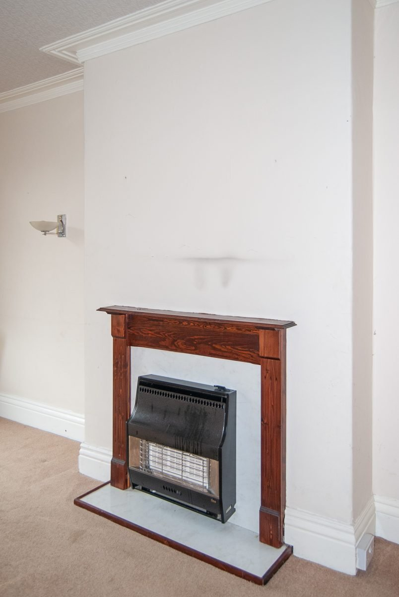 Installing A Wood Burning Stove - Before
