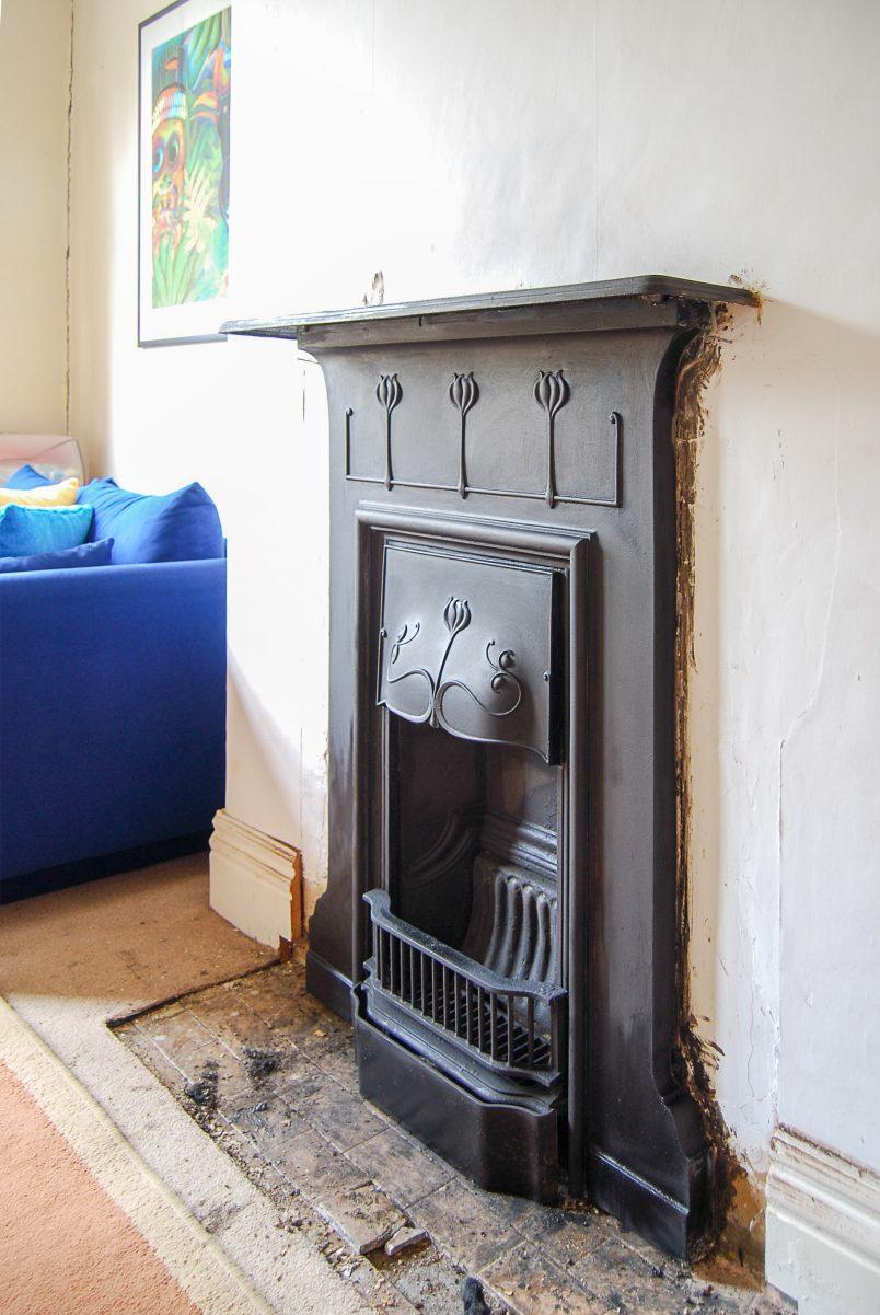 Temporary Edwardian Fireplace