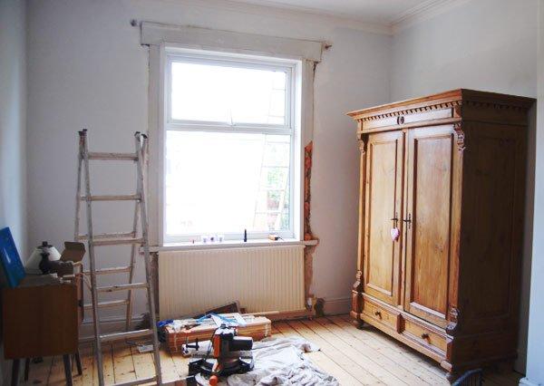 Bedroom Makeover Progress