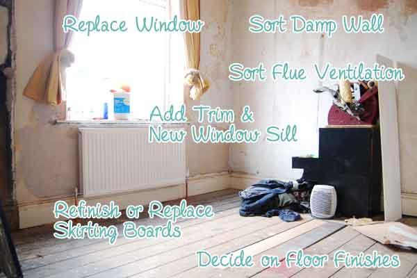 Bedroom Renovation List