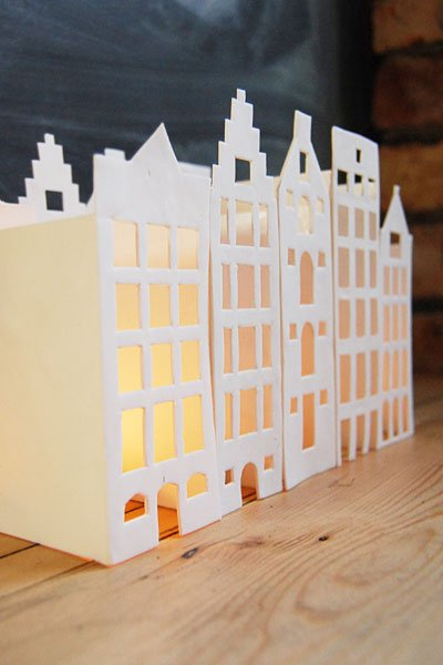 Give Away Week Tea Light Houses For You
