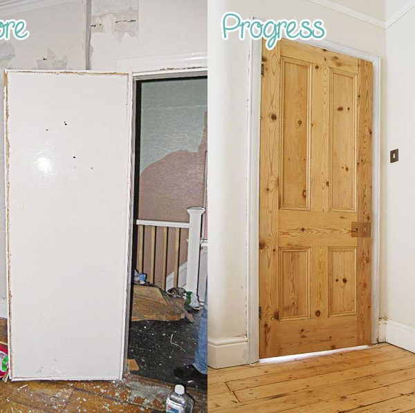 Stripping Period Doors