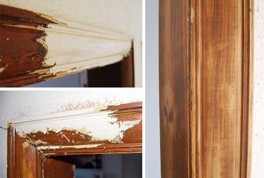 Stripping & Painting Woodwork