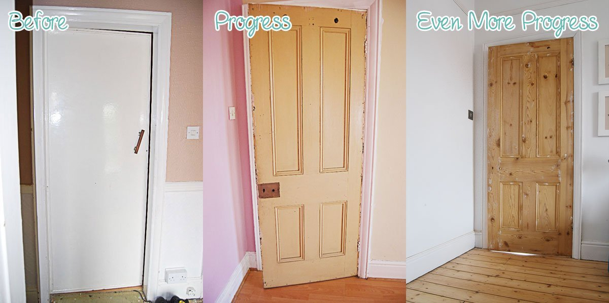 Stripping Period Doors