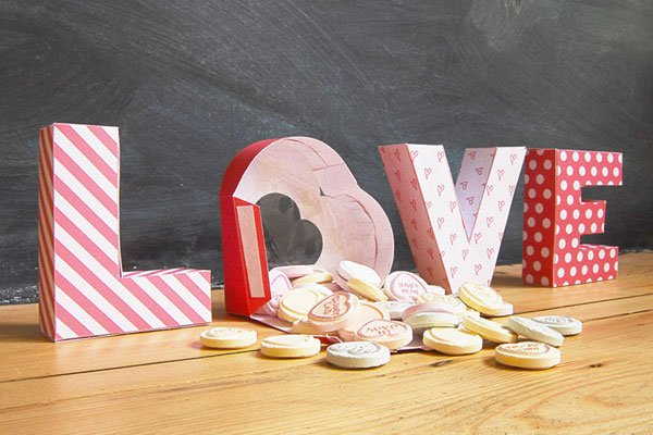Valentines Treat Box Decoration