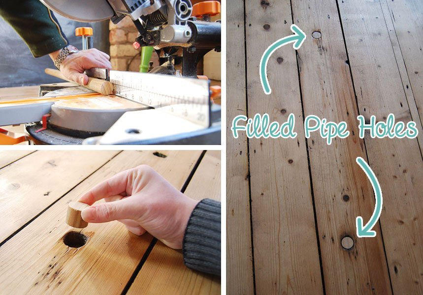 How To Fill Holes In Floorboards
