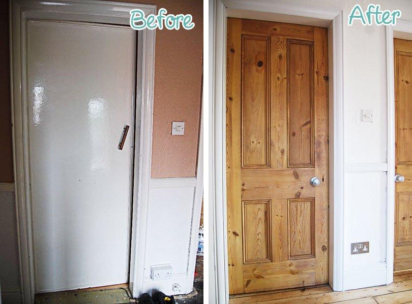 How To Wax A Door