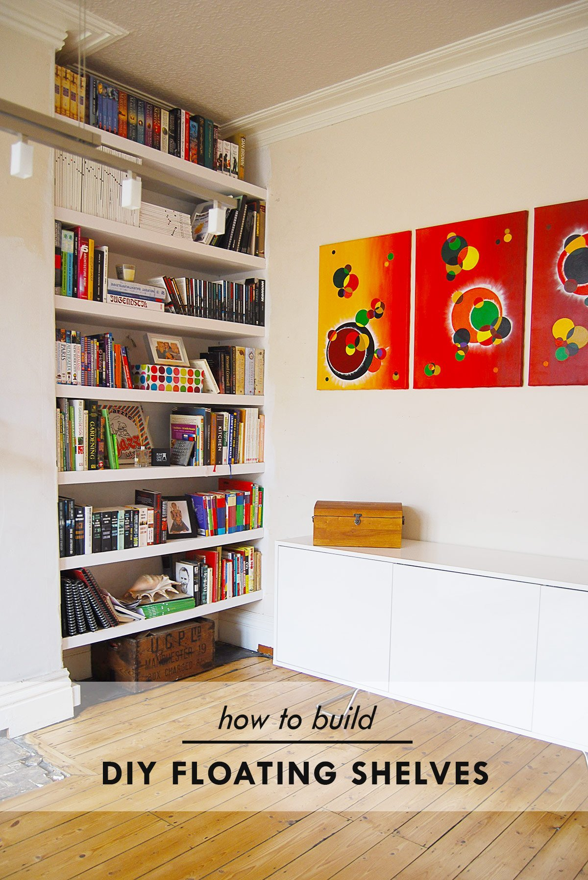 Diy Floating Shelves Little House On The Corner