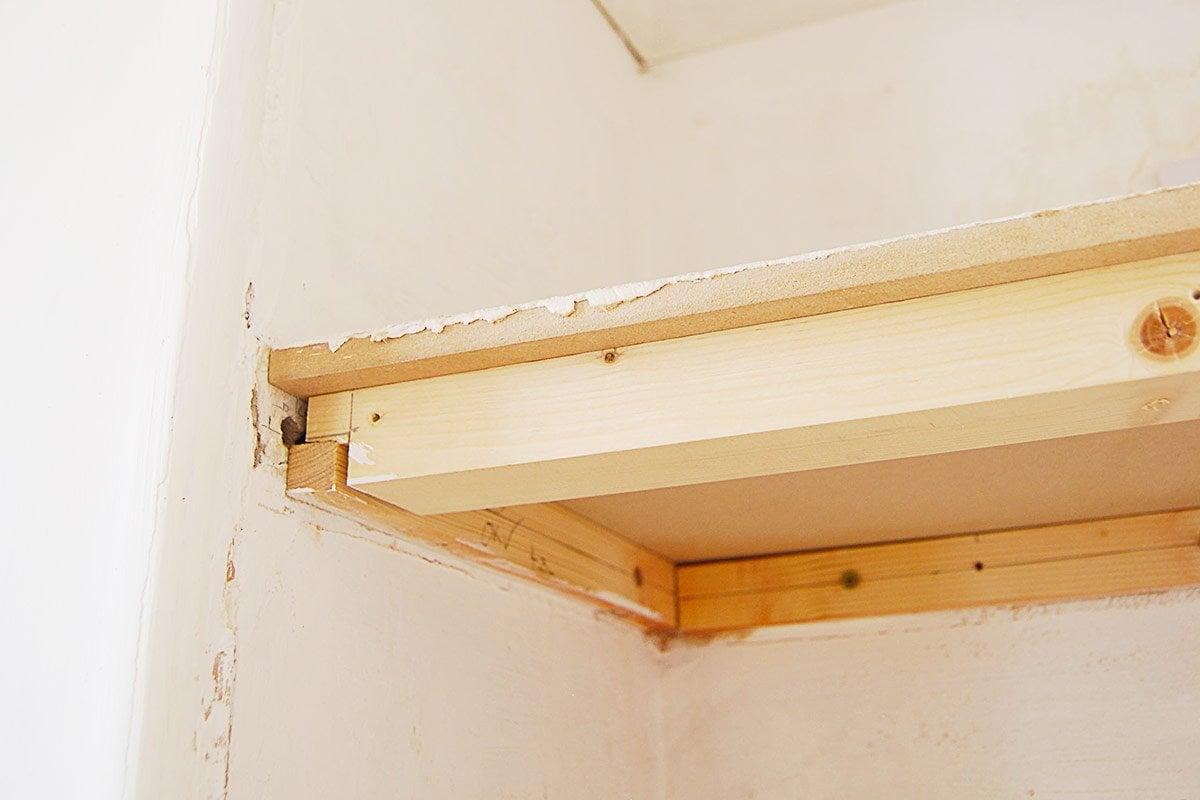 How To Build DIY Floating Shelves | Little House On The Corner