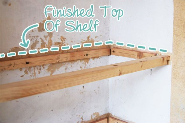 DIY Floating Shelves Little House On The Corner Amazing How To Make Floating Shelves From Scratch