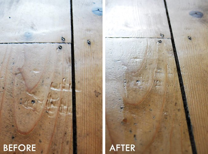 How To Remove Dents In Wooden Floors