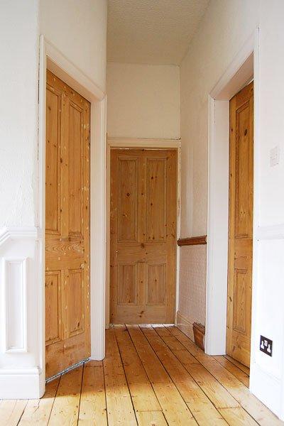 Stripped Edwardian Doors