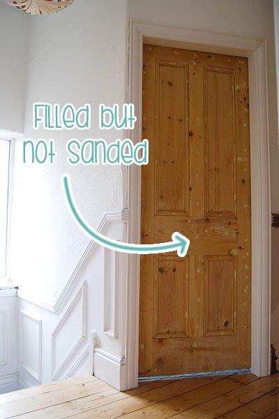 Stripped Edwardian Door
