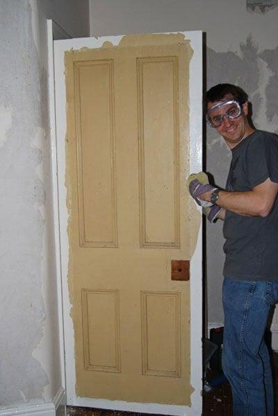 Edwardian Door Restoration