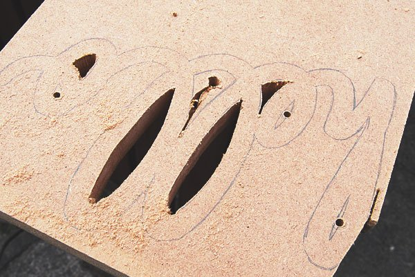 DIY Wooden Script Art