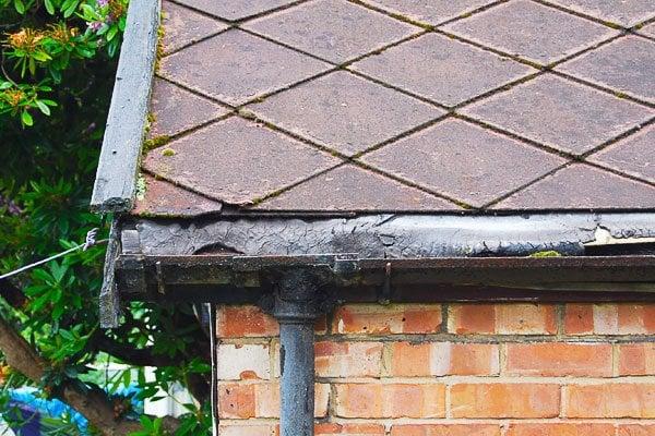 Edwardian Garage Roof