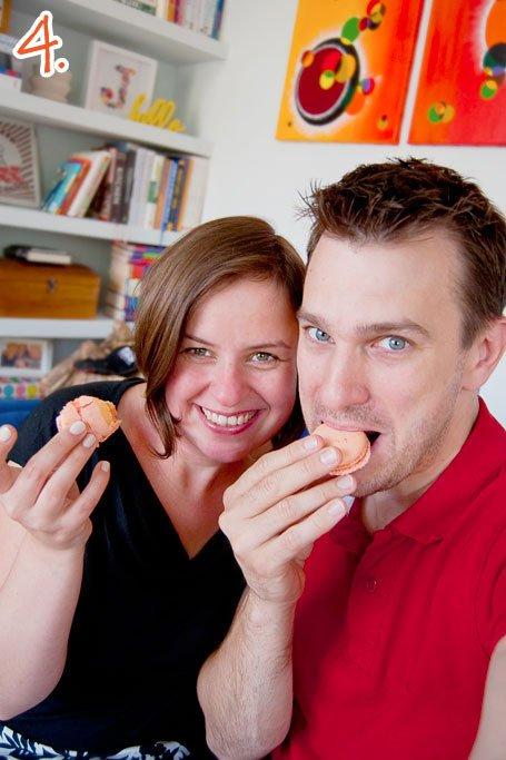 Eating Macaroons