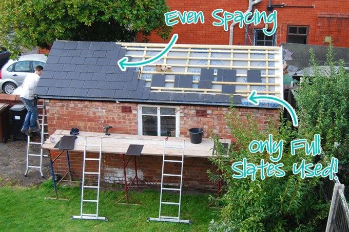 Slating A Roof