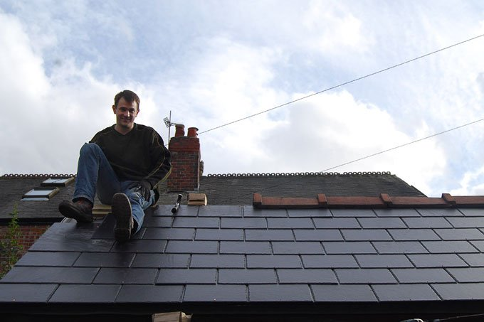 Replacing A Garage Roof