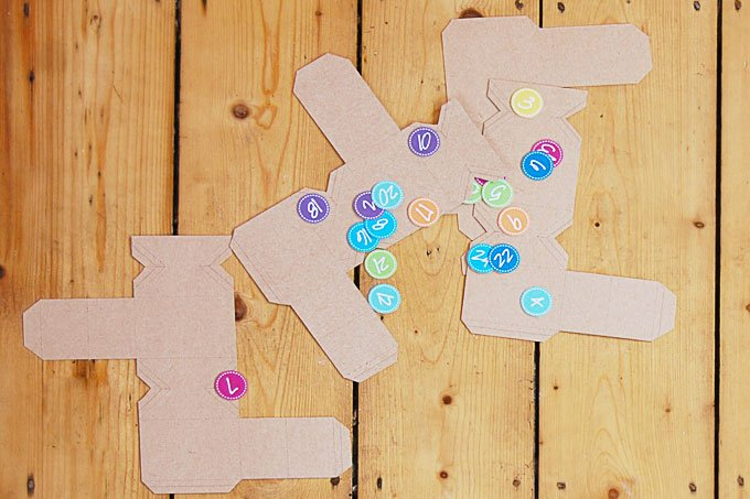 DIY Advent Calendar Printable