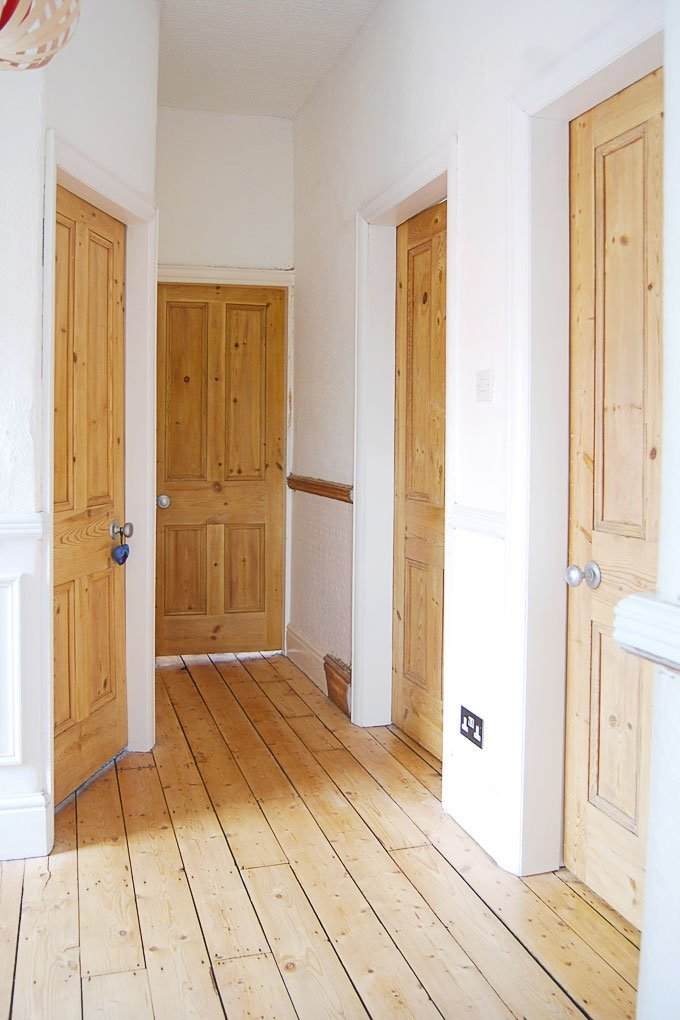 Edwardian Hallway & How to stop heating pipes from making noise