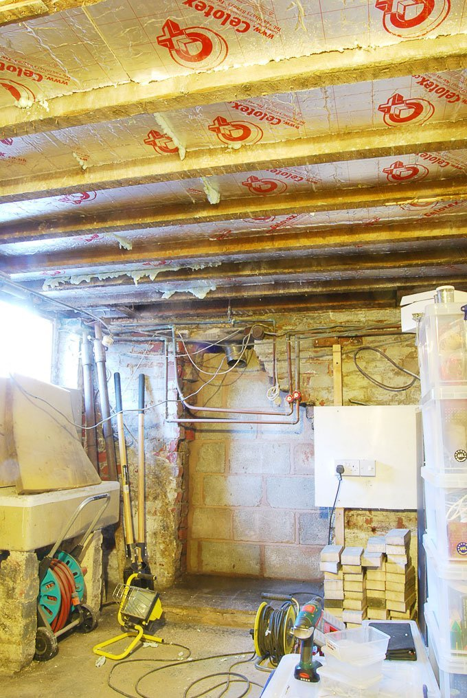 Insulating a Cellar Ceiling