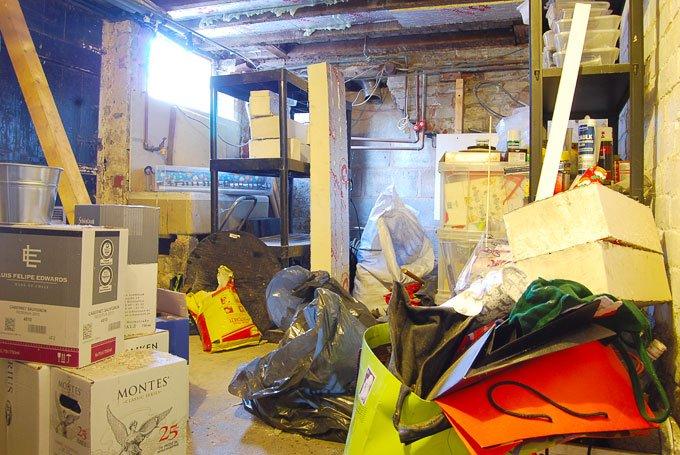 Messy Cellar