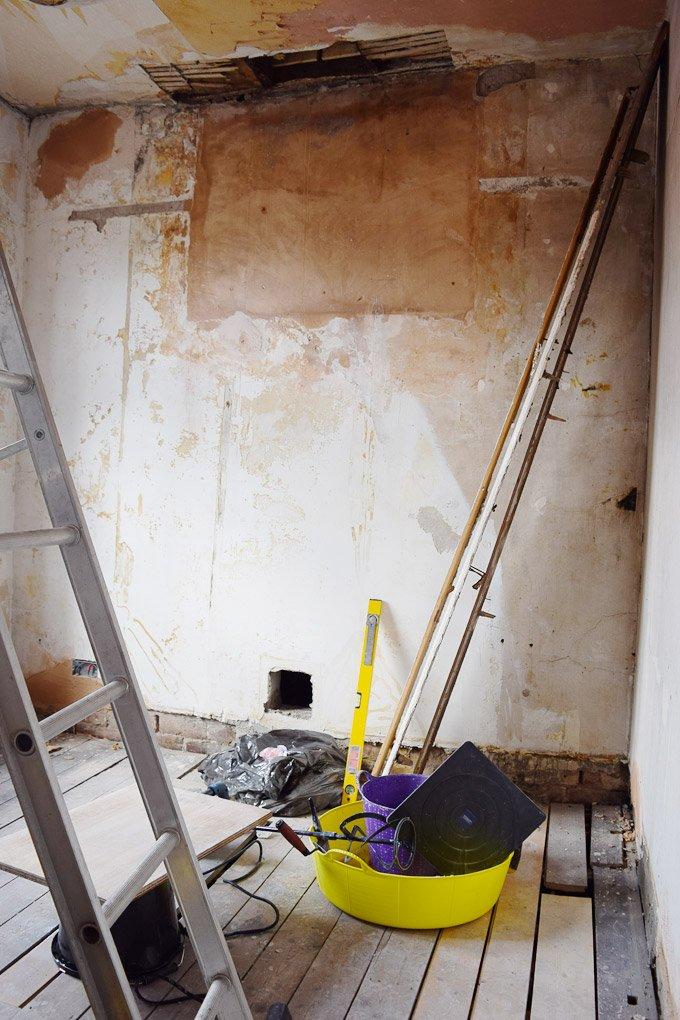 Plastering Walls