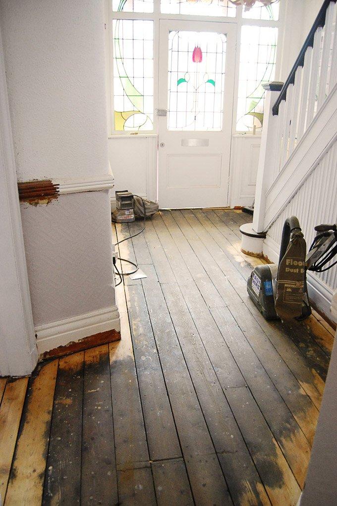 DIY Floor Sanding