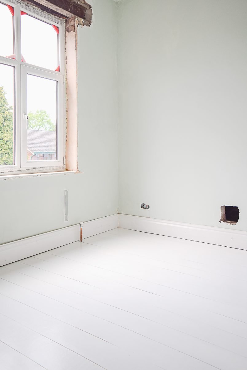 How To Paint A Wood Floor White - Easy DIY Guide