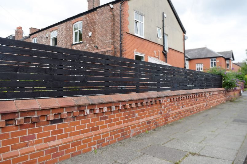 How To Build A Slatted Fence | Little House On The Corner
