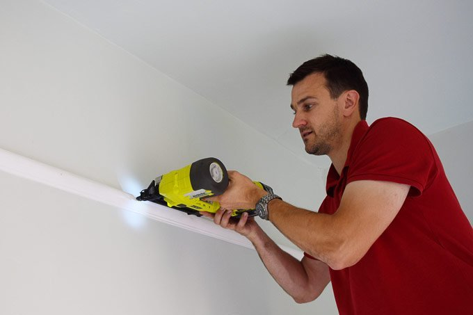 How To Attach A Picture Rail