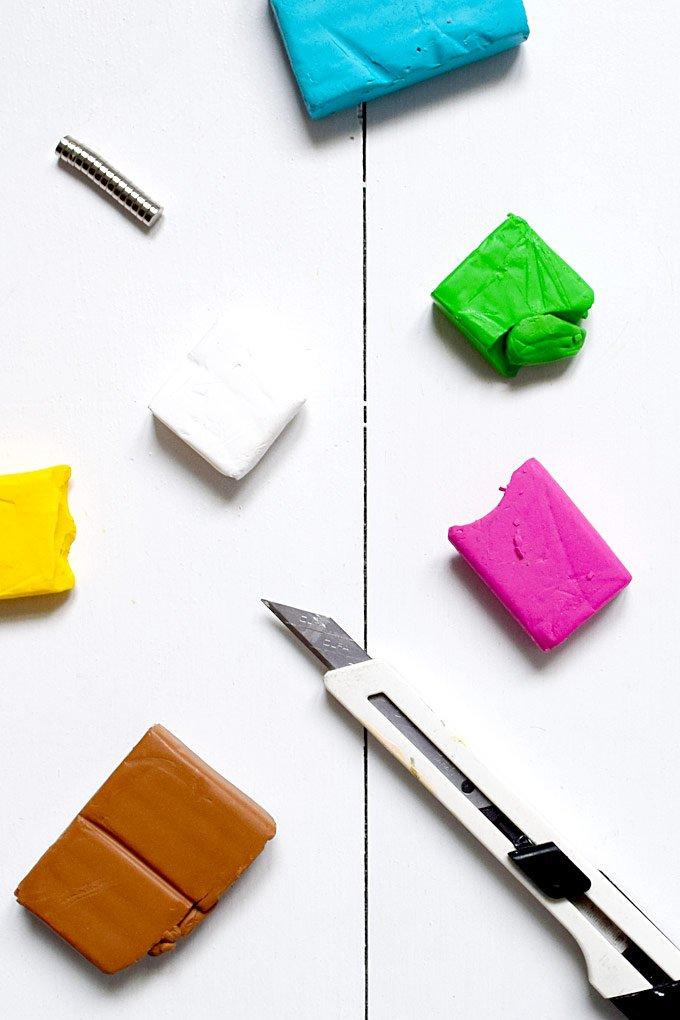 DIY Liquorice Allsorts Magnets