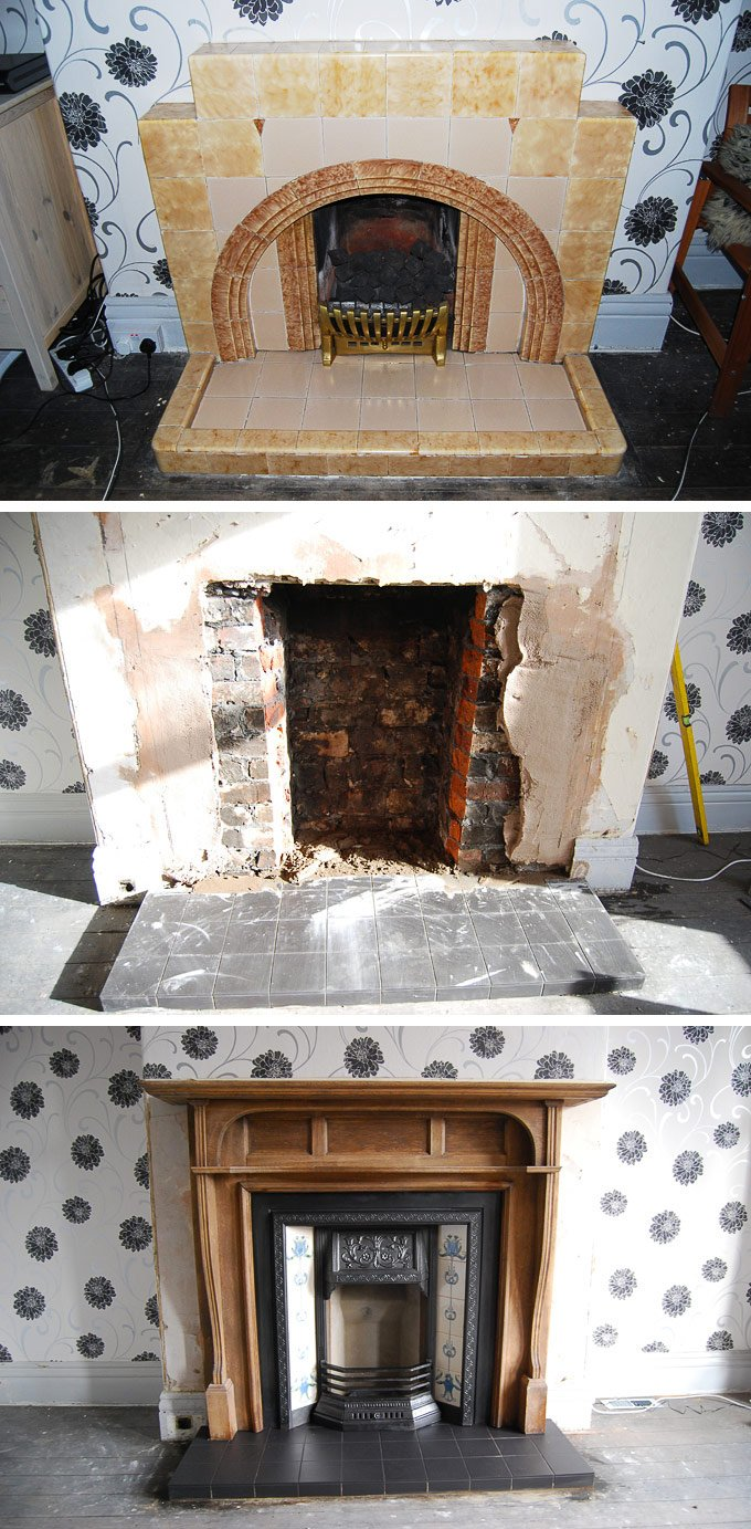 Reinstating An Edwardian Fireplace
