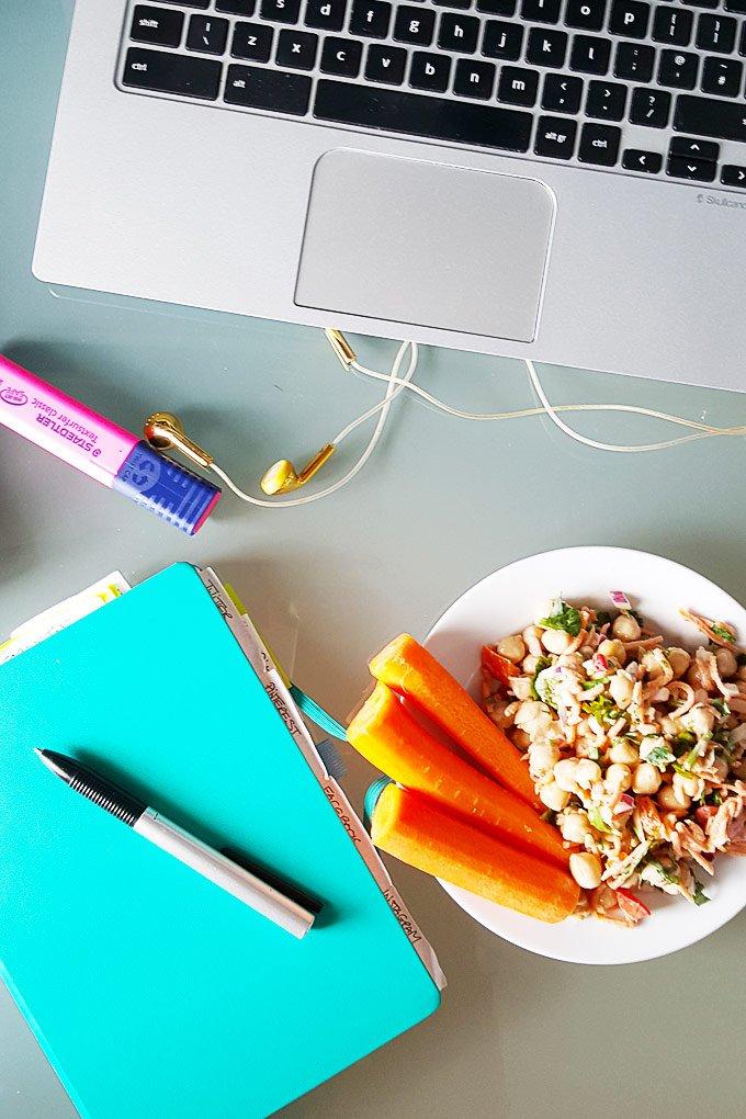 Food At Desk