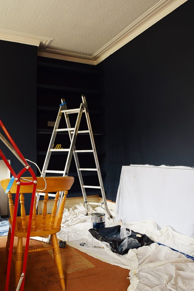 Painting Dark Walls