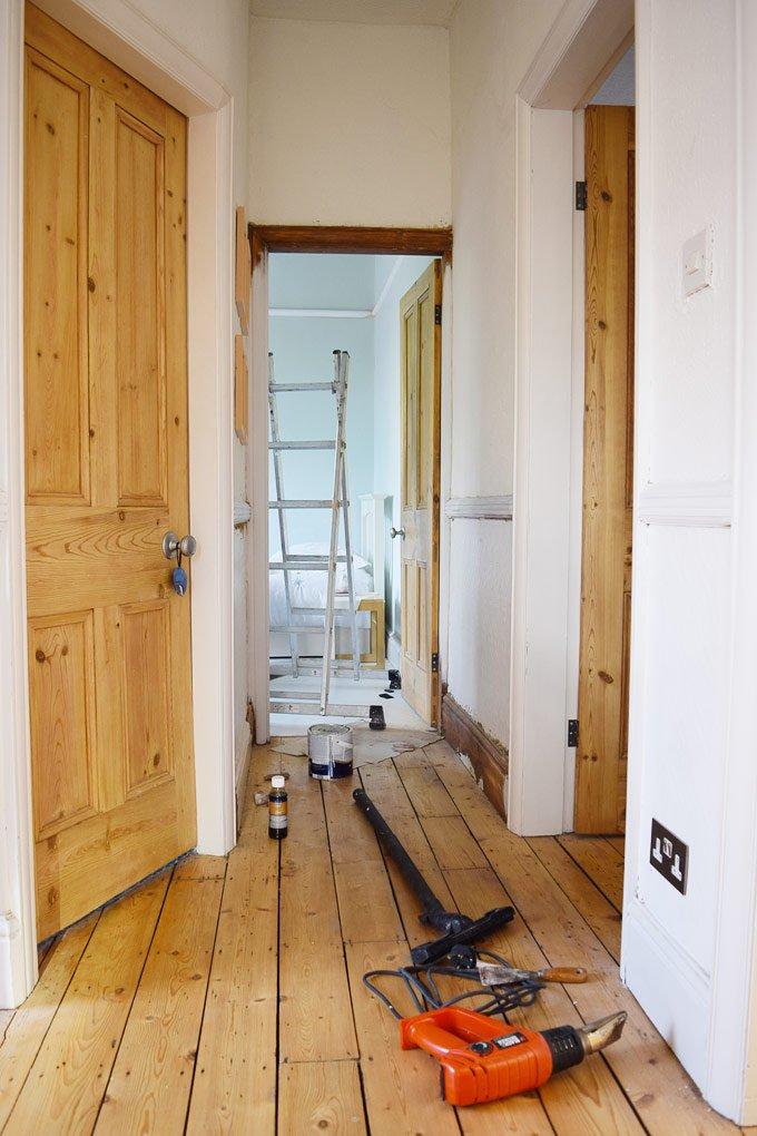 Stripping & Sanding A Door Frame