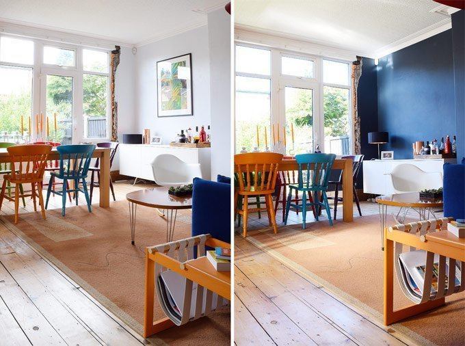 Dining Room Before & After 2