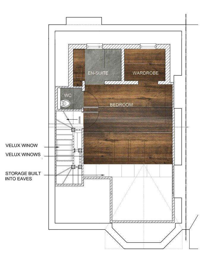 Loft Conversion Floor Plan