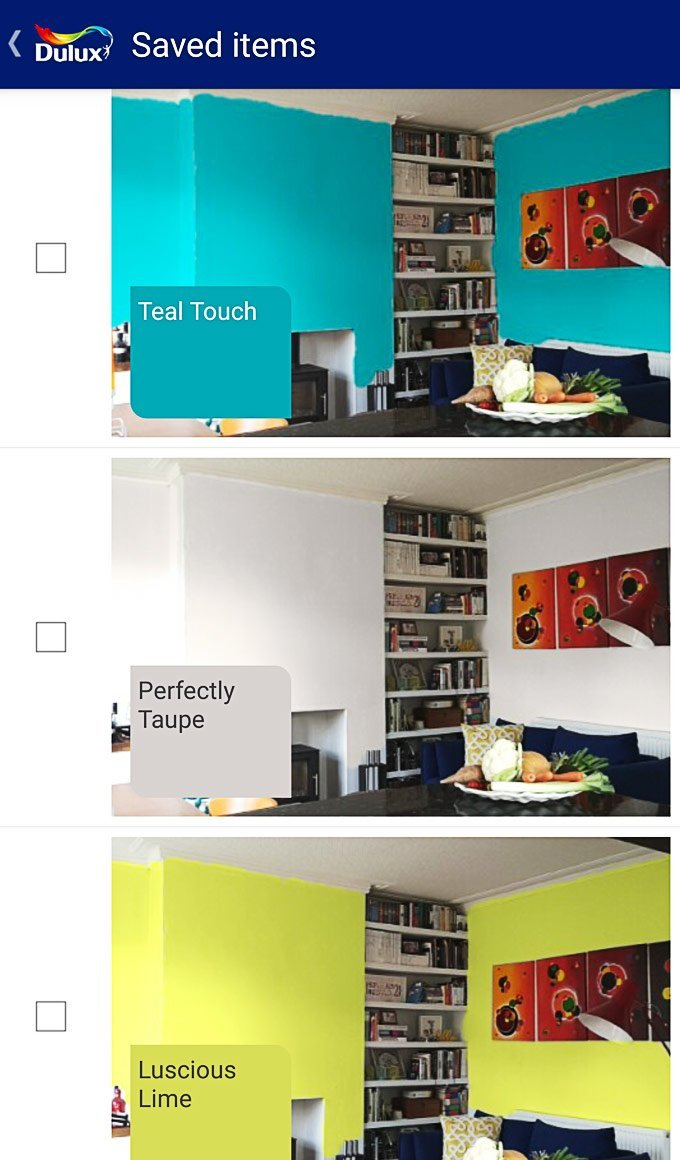 Dulux Vizualizer - Choose Colours