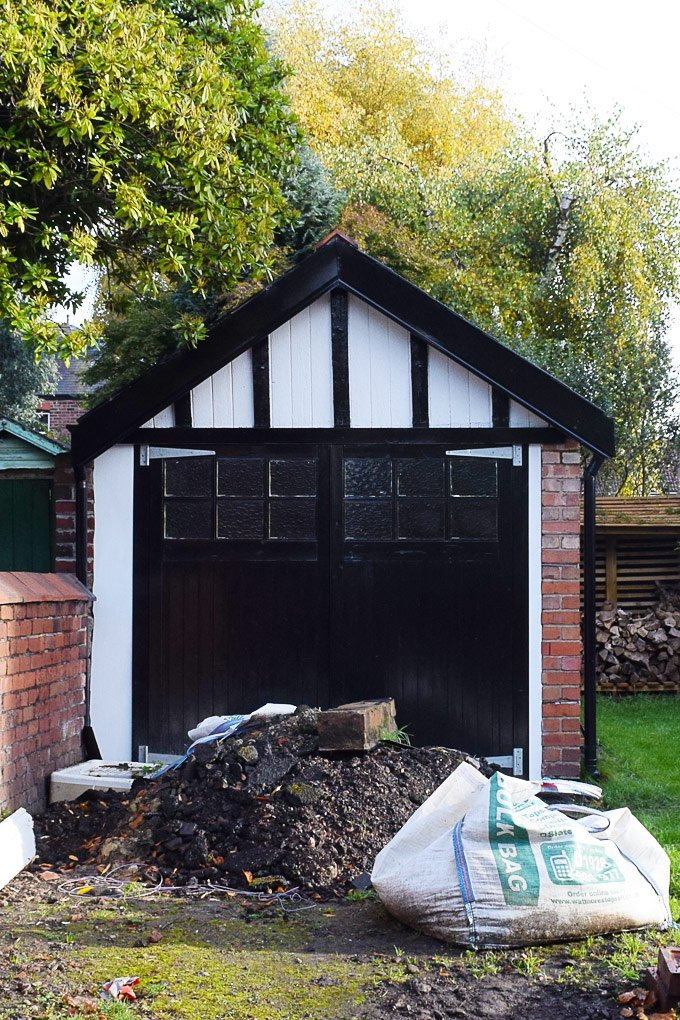 Replacing Garage Woodwork