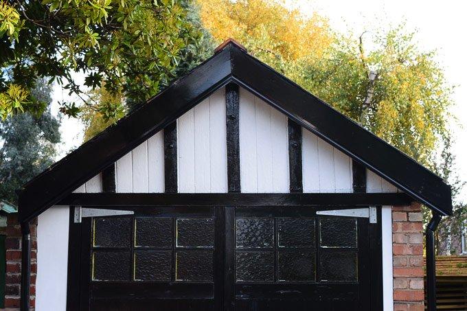 Replacing Garage Woodwork