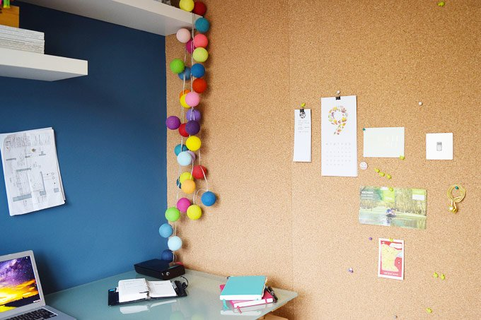 Diy Corkboard Wall