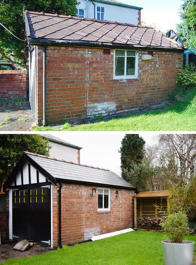 Garagre Roof Before & After