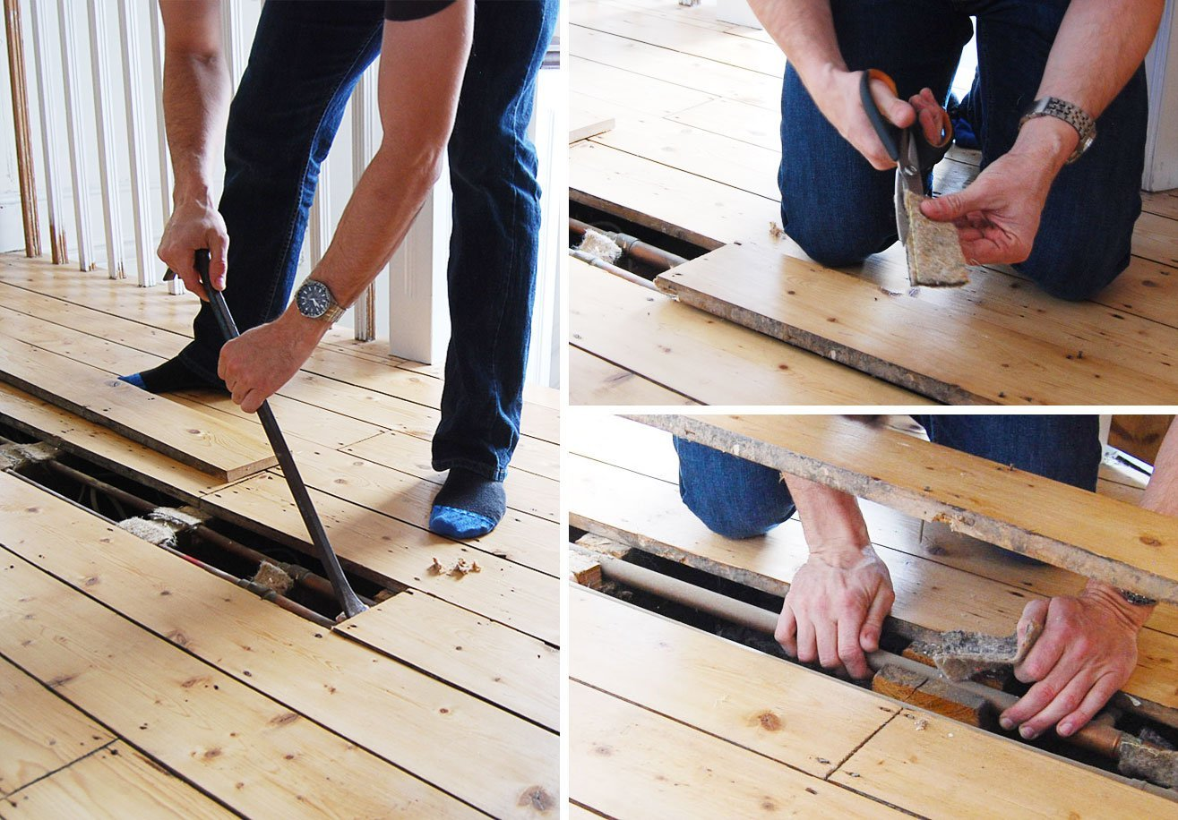 How to stop heating pipes making noise