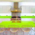 glass kitchen worktop