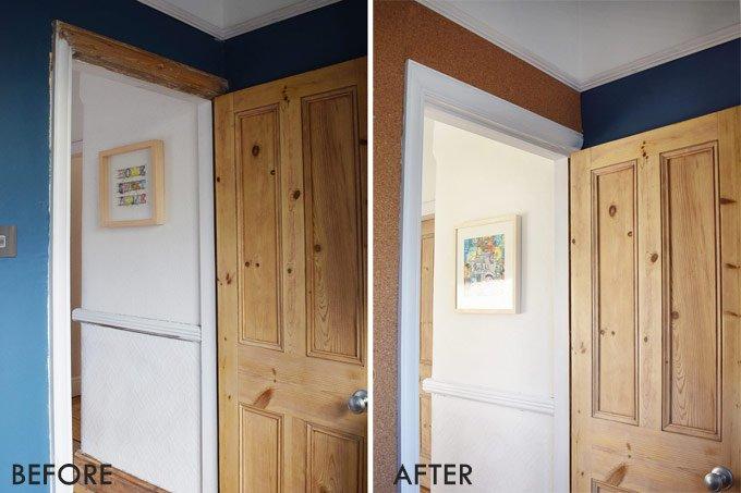 Office Door Before & After