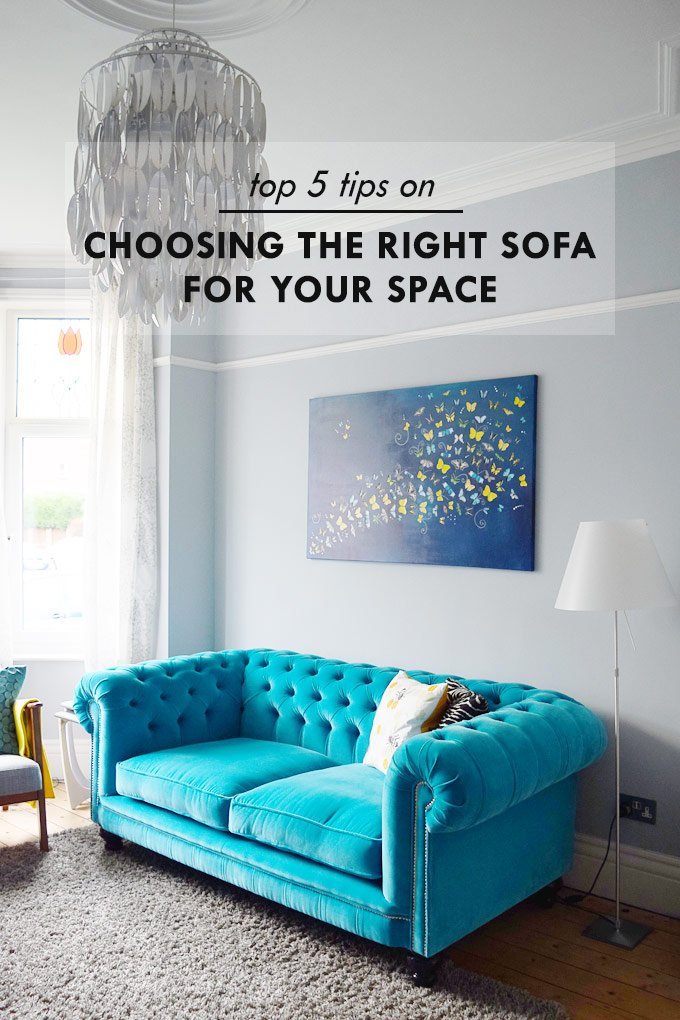 Top 5 Tips On Choosing The Right Sofa For Your Space